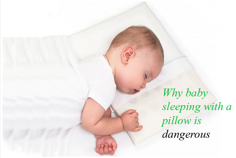 Why baby sleeping with a pillow is dangerous
