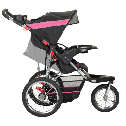 Baby Trend Expedition Jogger Stroller, Bubble Gum_