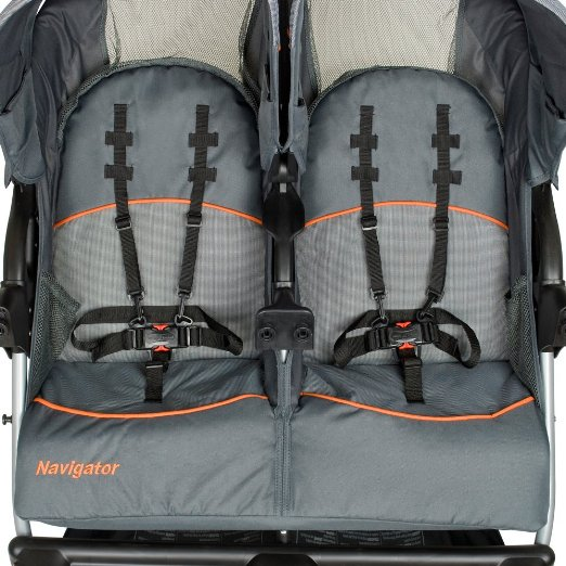 Choose Baby Trend Navigator Double Jogger Stroller