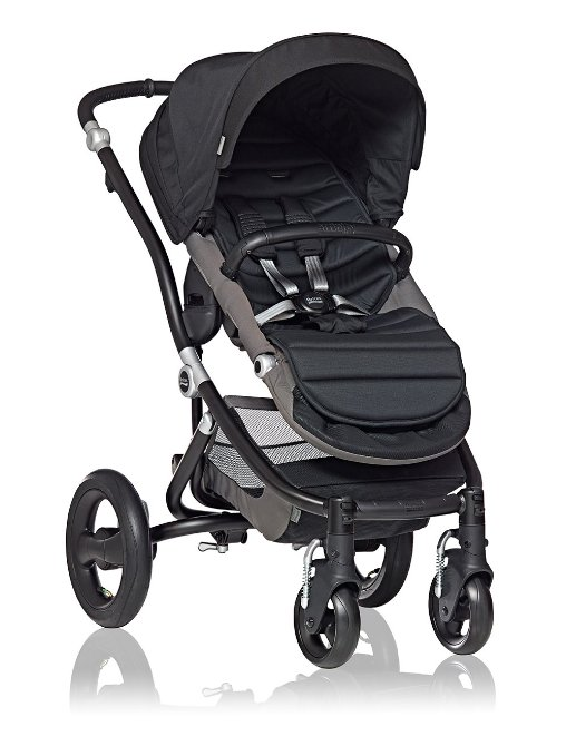 Britax Affinity Stroller Black with Color Pack