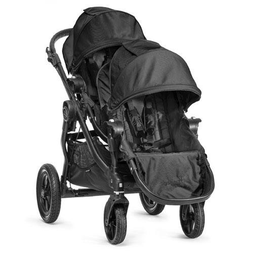 Baby Jogger 2014 City Select Stroller Black Frame WITH Second Seat