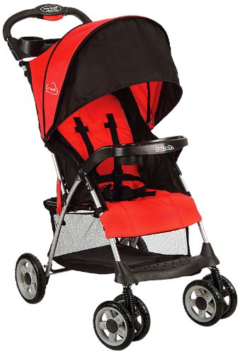 Kolcraft Cloud Plus Lightweight Stroller Red