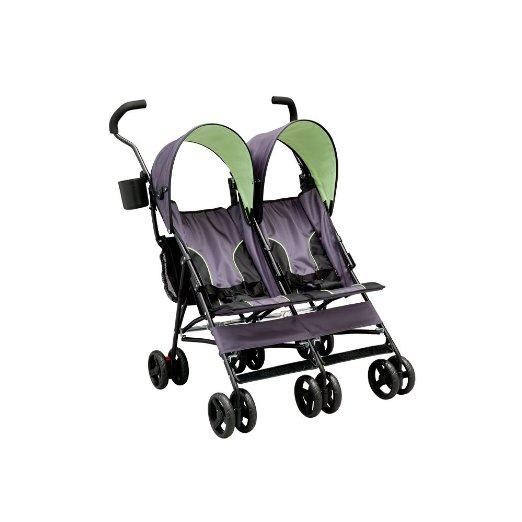 Delta Children LX Side by Side Tandem Umbrella Stroller