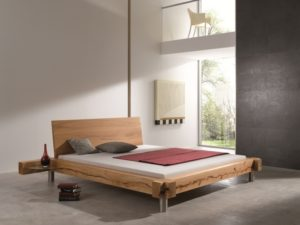 How to make a modern style wooden bed