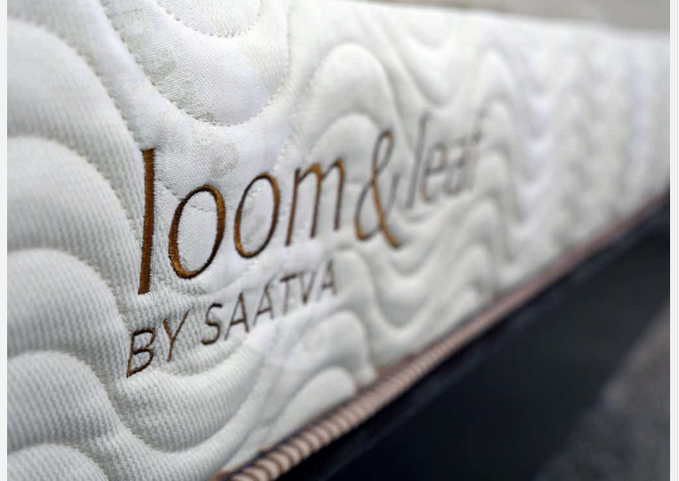 Loom & Leaf mattress logo