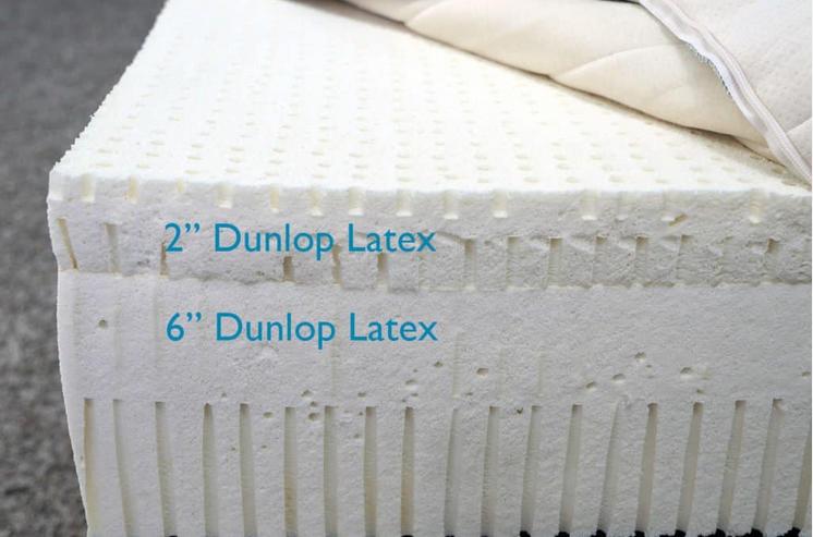 sleep on latex mattress layers