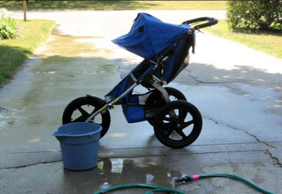 How To Clean Stroller Fabric